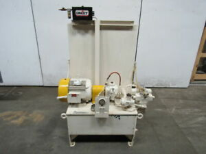 7 5hp 20 Gallon Hydraulic Power Unit 230 460v 3 Ph W 2 Valves Psv Pnso 10hr