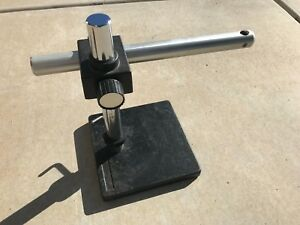 Bausch Lomb Microscope Boom Stand W Weighted Base