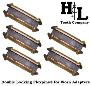 23dlfp Flexpins 5 Pack H l Double Locking Flex Pins For Worn 23 230 Adapters