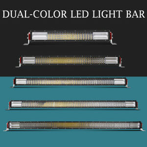 10d 22 32 42 50 52 Inch 4 Row Led Light Bar Spot Flood Combo Offroad Wiring