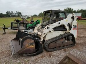 2011 Bobcat T190 Skid Steer Loader On Tracks Diesel Selectable Joystick Great