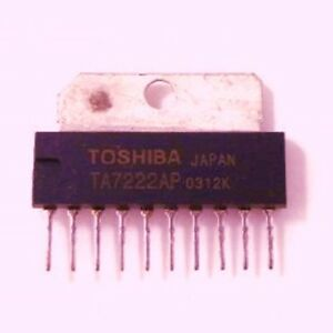 Ta7222ap Pll audio Ic Toshiba