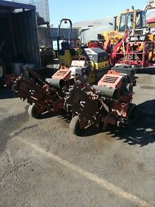 2012 Ditch Witch Rt12 Walk Behind Trencher