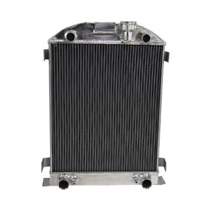 62mm 3row Core Aluminum Radiator For Ford Flat Head Tuck V8 Engines 1930 1934