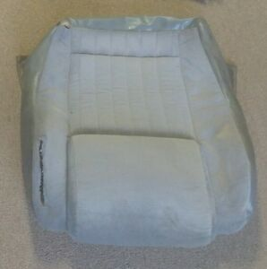 Oem 84 88 1988 Fiero Gt Gm Factory Original Seat Covers Grey Gray Driver Bottom
