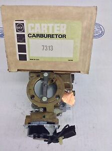 Nos Carter Yfa Carburetor 7313s 1977 Ford Cars 200 250 Engine Auto Trans