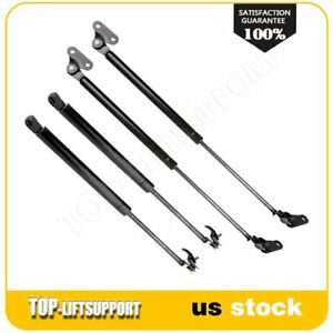 For 1990 1997 Toyota Land Cruiser 4 Pcs Hood Tailgate Hatch Lift Supports
