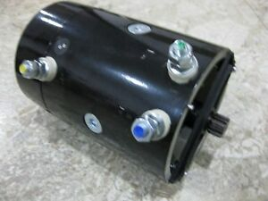 Warn 39436 New Replacement 12 Volt Electric Winch Motor Hs9500i Ce Drive Spool