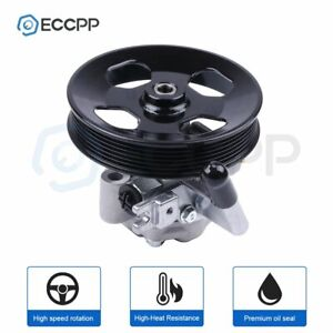 New Power Steering Pump With Pulley For 05 10 Kia Sportage Hyundai Tucson 2 7l