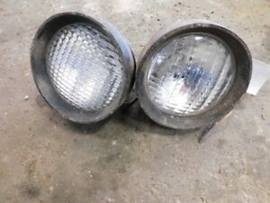 Allis chalmers 210 220 Tractor 2 Center Stud Lights W Bulbs Tag 672