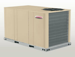 Lennox 3 Ton Heat Pump Package Unit 208 230v 3ph Economizer Ac Heat Khb036s4bn1y