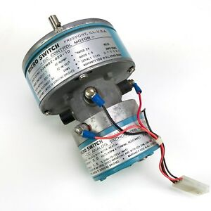 New Honeywell Micro Switch 33vm82 020 10 Dc Control Motor With Analog Tachometer