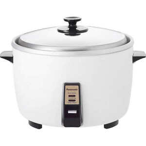 Panasonic 23 Cup Commercial Rice Cooker With Spoon White sr42hzpw
