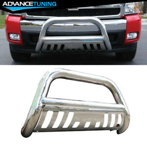Fits 99 07 Toyota Tundra Sequoia Bull Bar 304 Stainless Steel Silver 3inch