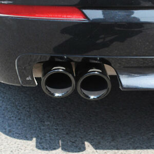 2x Exhaust Tip Fit Bmw 5 Series F10 F18 520i 523i 525i 528i Rear Muffler Pipe