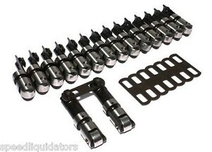 Comp Cams Sbc Chevy Endure x 300 Tall 875 Solid Roller Lifters Offset 890 16