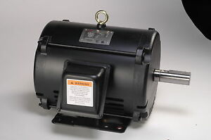 1 Hp Electric Motor 143t 3 Phase Open Drip Proof 1740 Rpm