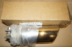 Gm 22799819 Chrome Exhaust Tip 1 2 Ton Truck Bowtie Logo Angle Cut 3 Dual Wall