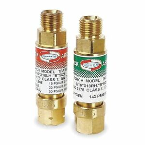 Flashback Arrestor Regulator Oxy fuel