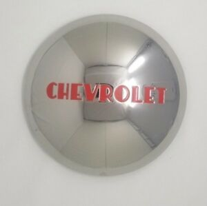 Chevrolet Chevy 3 4 And 1 Ton Truck Stainless Steel Hubcap 1946 1953