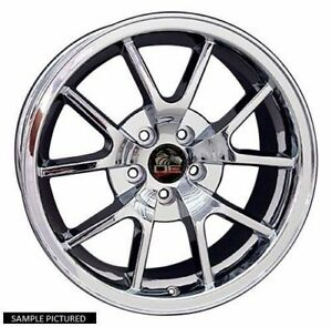 1 New 18 Replacement Rear Wheel For 1994 2004 Ford Mustang Fr500 Rim 24865