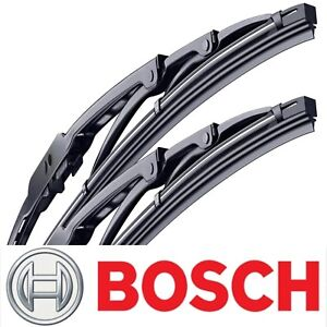 2 Genuine Bosch Wiper Blades For Toyota Sienna 2004 2010 Direct Connect Set