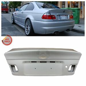 Bmw E46 M3 Csl Style Unpainted Trunk Lid For E46 Coupe 2000 2006 325 328 330 M3
