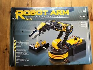 Robot Arm Wired Control Robot Arm Kit Brand New