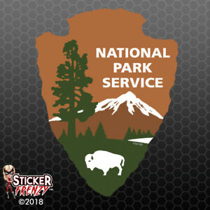 National Park Service Sticker Car Truck Window Vinyl Decal Usa Fs2168