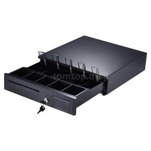 405 Cash Register Drawer Box 5 Bill 5 Coin Tray Compatible Works With Pos P9s1