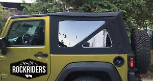 07 18 Jeep Wrangler Jk 2 Door Replacement Tinted Windows Soft Top Special Buy