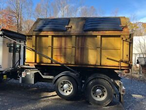 20yd Hooklift Dumpsters Waste Recycling Enclosed Containers