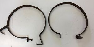 Ford Model T Early Years Round Gas Tank Straps For Restore 1 Tab Missing