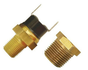 Derale 180 F Thermal Fan Switch Thermostat Fits 1 8 3 8 Npt