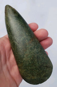 Awesome Jade Olmec Celt Make An Offer Precolumbian Mayan