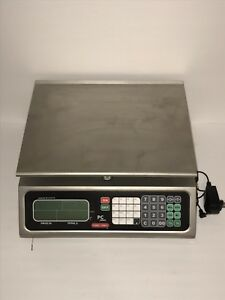 Torrey Pc 40l 40 X 01 Lb Price Computing Scale With Rechargeable Battery