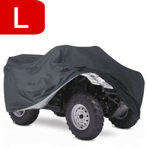 Atv Cover Protection Snow Uv Waterproof Large Fit 2008 Suzuki Kingquad 400fs 8