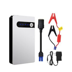 Car Jump Starter 8000mah 12v Portable Power Bank Car Battery Charger To 2 0l
