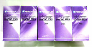 Dental Bonding Adhesive 7ml Prime dent Vlc Light Cure Pack Of 5