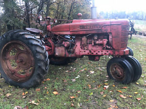 Farmall M Tractor International Good Rubber Clean Super 400 450 H A B C