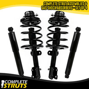 1995 2000 Dodge Grand Caravan Front Complete Strut Rear Shock Absorber Bundle