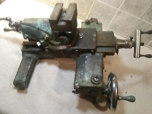 Nice Clean Atlas Craftsman 10 12 Lathe Saddle And Compound Assembly 10f 9