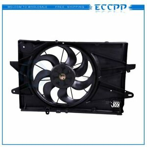 Radiator Ac Condenser Cooling Fan Electric For 2010 2017 Chevrolet Equinox 2 4l