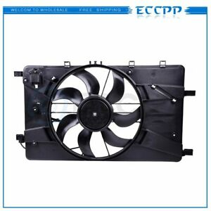 12v Radiator Ac Condenser Cooling Fan Fit For 2011 2016 Chevy Cruze 1 4l 1 8l L4