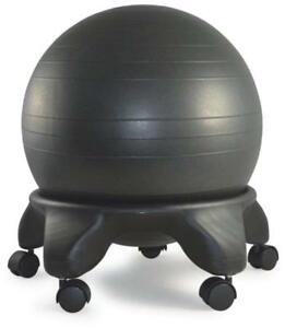 Sierra Comfort Sc 0310 Balance Ball Chair 20 Ball Black