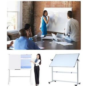 Whiteboards For Classroom Office Students Magnetic Mobile Dry Erase Rolling