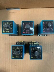 Idec Rte p11 Electronic Timer 120vac Used 5 Available