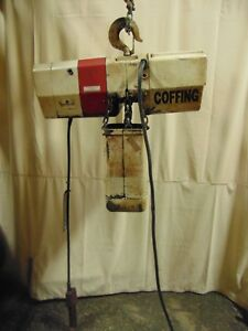 Coffing 2 Ton 4 000 Lb Electric Chain Hoist Lift