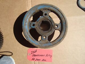 Ford 3000 Tractor Used Crankshaft Pulley Ref Part D5nn6a312a 83903583