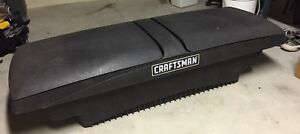 Pickup Truck Bed Storage Tool Box Trunk Black Craftsman 60 Inch Top 37 Inch Base